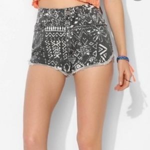 BDG Super High Rise Dolphin Shorts Size 28